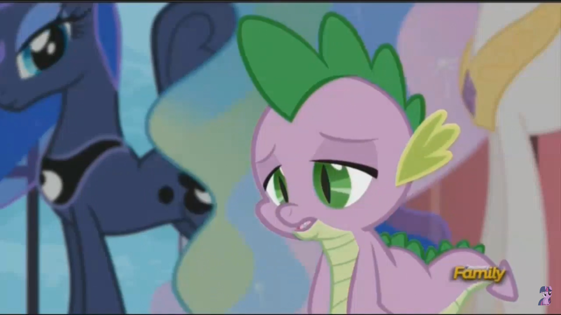 image My little pony spike x rarity